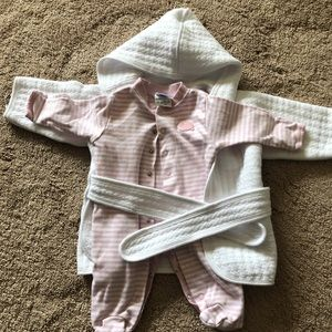 Other - Baby girl jammies and robe